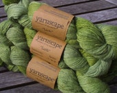 Luxury DK yarn: superfine alpaca, merino and silk singles (Lush in Sphagnum)
