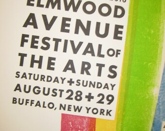 Elmwood Ave Festival of the Arts 2010 Poster