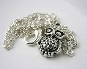 Cute Mini Owl Necklace SALE