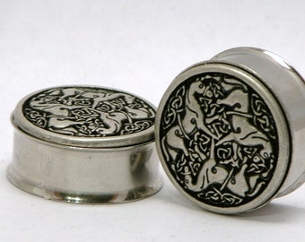 """Awesome Horse Carousel Plugs 1"""" 25mm"""