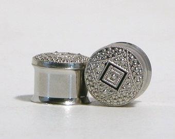 "Silver Plugs 5/8"" 16mm"