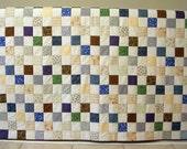 Sale -- Modern Primitive Quilt