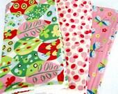 Tweet Tweet Chenille Burp Cloths -- Set of 3