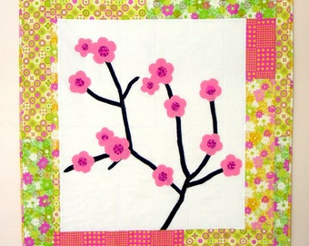 Cherry Blossoms Quilt