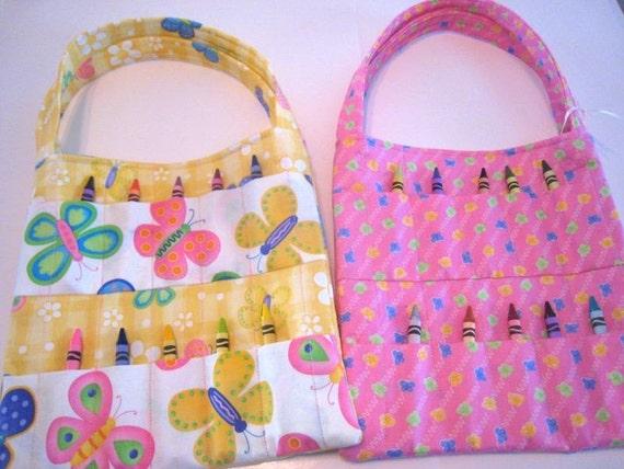 Crayon Bag Sewing Pattern PDF Instant Download