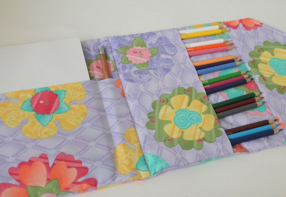 Pencil Crayon Wallet Sewing Pattern PDF INSTANT DOWNLOAD