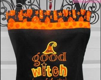 Halloween Witch Kitchen Apron
