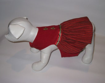 Doggy Holiday Dress