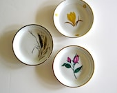 Vintage Easterling Coasters Butter Pat Dishes