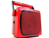 RESERVED FOR PEKOE7 Vintage Westheimer little red portable radio