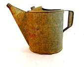 Vintage Galvanized number 8 Watering Can