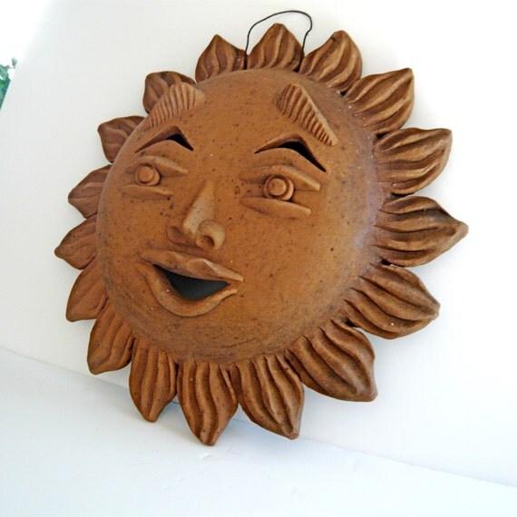Terra cotta sun