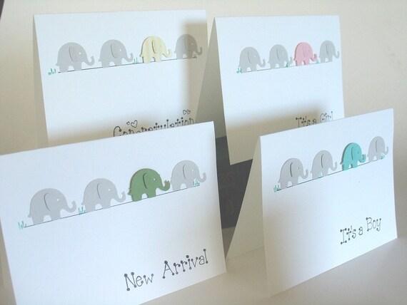 Elephant Parade- Welcome Baby-Congrats-It's a Girl