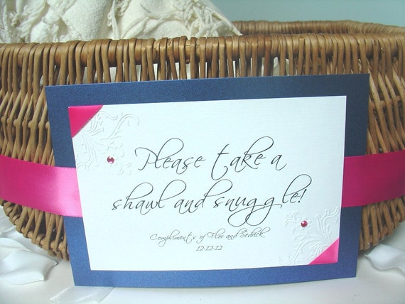 Flip Flop Basket Sign, Shawl sign, Dancing Shoes, CUSTOM order with your wording