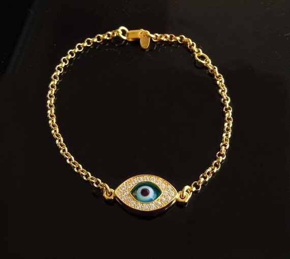 Kelly Bracelet Kelly Ripa Evil Eye Bracelet