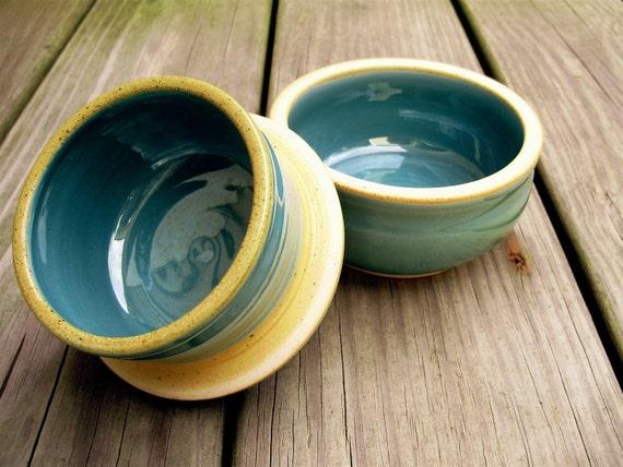 Butter Crock (bell shaped) in Robins Egg Blue