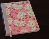 Pink Floral Amy Butler Journal- READY TO SHIP
