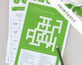 Printable Baby Shower Games - Green