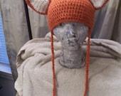 Foxy Ears Crochet Hat