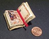 Miniature Illuminated Manuscript