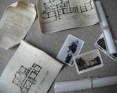 Miniature Castle Deed and Blueprints