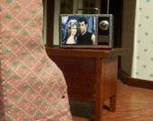 Miniature Grease TV Set