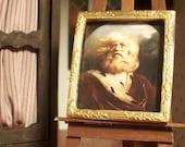 Miniature King Lear Portrait