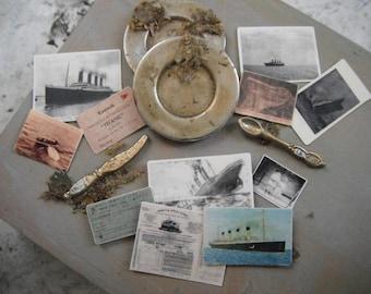 Miniature Titanic Ephemera