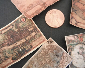 Miniature Antique Maps
