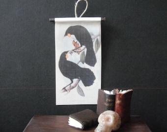 Miniature Natural History Chart---Ravens