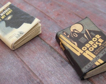 Miniature Thriller Books