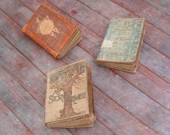 Miniature Antique Children's Books