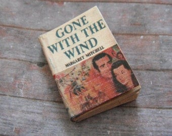 Miniature Book --- Gone with the Wind