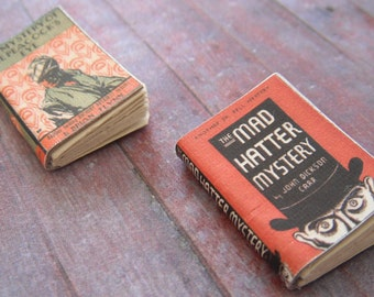 Miniature Mystery Books