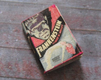 Miniature Book --- Frankenstein