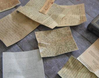 Miniature Antique Papers