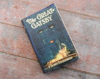 Miniature Book --- The Great Gatsby