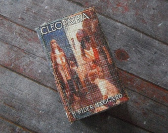 Miniature Book --- Cleopatra Biography