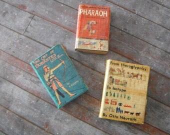Miniature Books --- Egyptian History