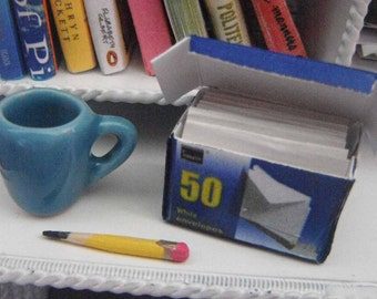 Miniature Box of Envelopes