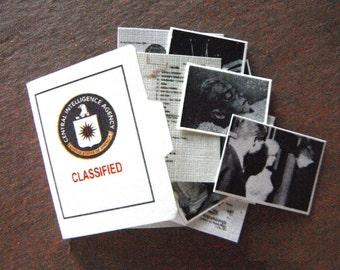 Miniature Marilyn Monroe CIA File