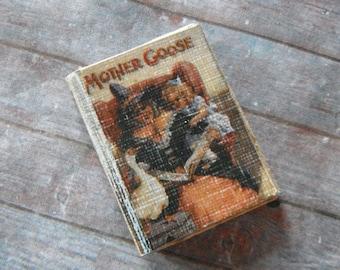 Miniature Book --- Mother Goose