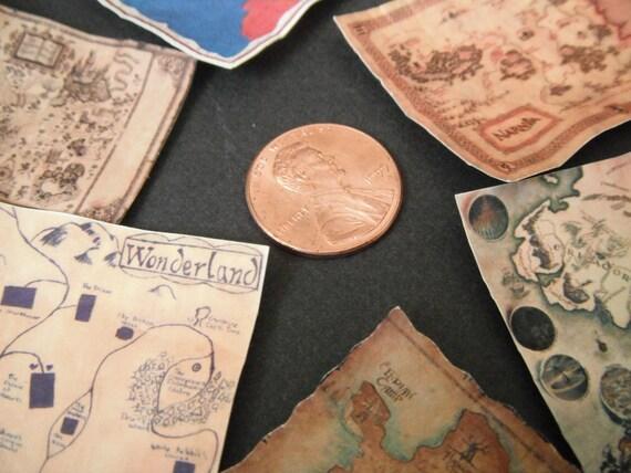 Miniature Magical Maps