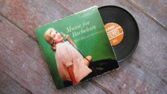 "Miniature ""Music for Bachelors"" Album"