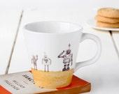Robot Tapered Mug