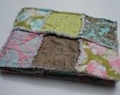 THE HUSHABYE - Rag quilt patchwork baby blanket