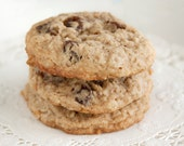 Oatmeal Raisin Spice Cookies - 3 dozen homemade cookies like Grandma made