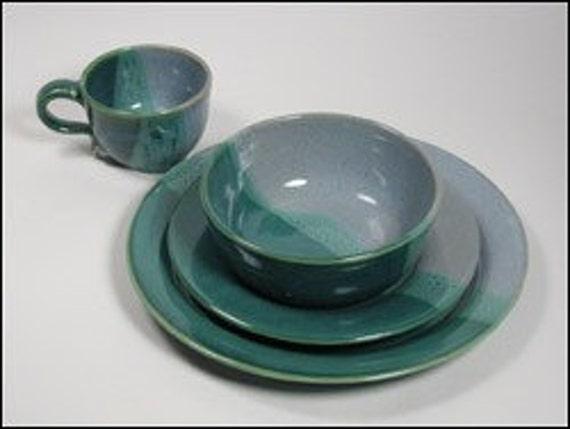 Handmade Dinnerware Place Setting