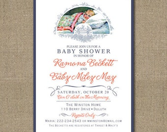 PRINTABLE Baby Shower or Sip and See invitation