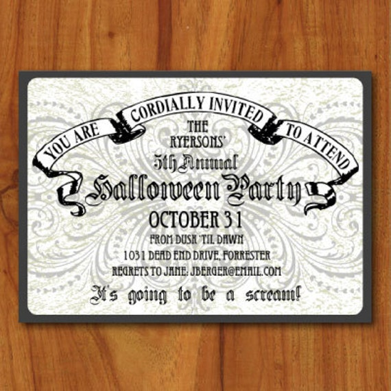 like this item - Evite Halloween Party